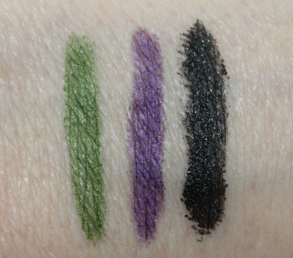 Physicians Formula Custom Eye Enhancing Kohl Kajal Eyeliner Trio Swatches 2