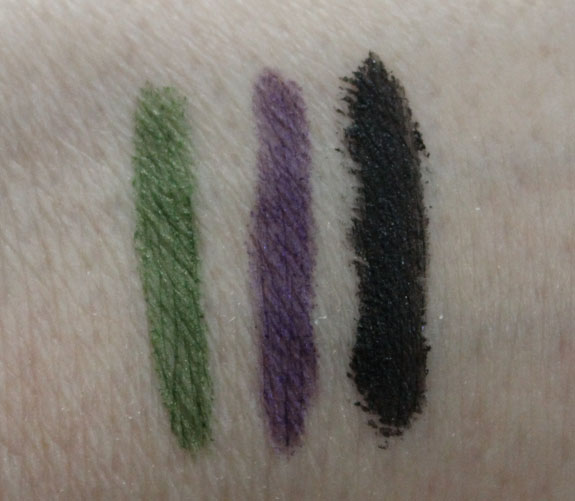 Physicians Formula Custom Eye Enhancing Kohl Kajal Eyeliner Trio Swatches