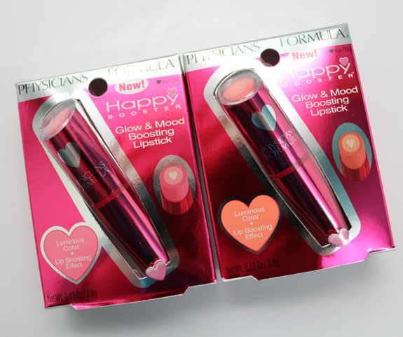 Physicians Formula Glow  Mood Booster Lipsticks
