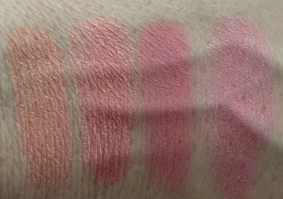 Tarina Tarantino Dollskin Cheek Palette Swatches