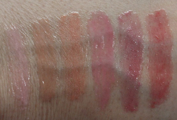Tarte Maracuja Divine Shine Lip Gloss Swatches