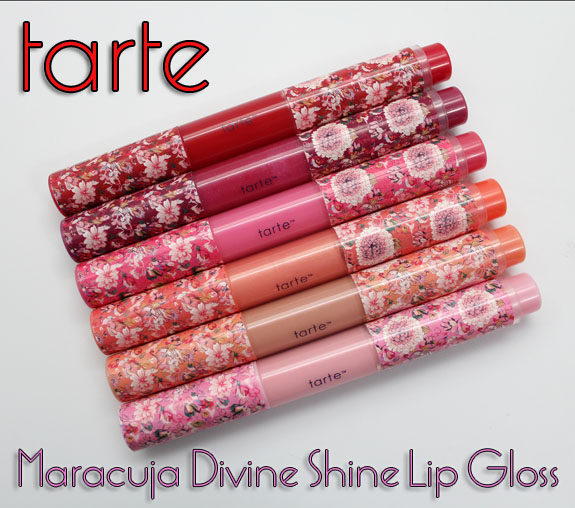 Tarte Maracuja Divine Shine Lip Gloss For Spring 2012 Swatches