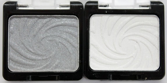 Wet n Wild Coloricon Shimmer Singles Platinum and Unplugges