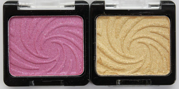 Wet n Wild Coloricon Shimmer Singles Sellout and Golddigger