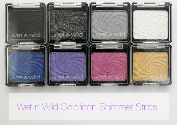Wet n Wild Coloricon Shimmer Singles