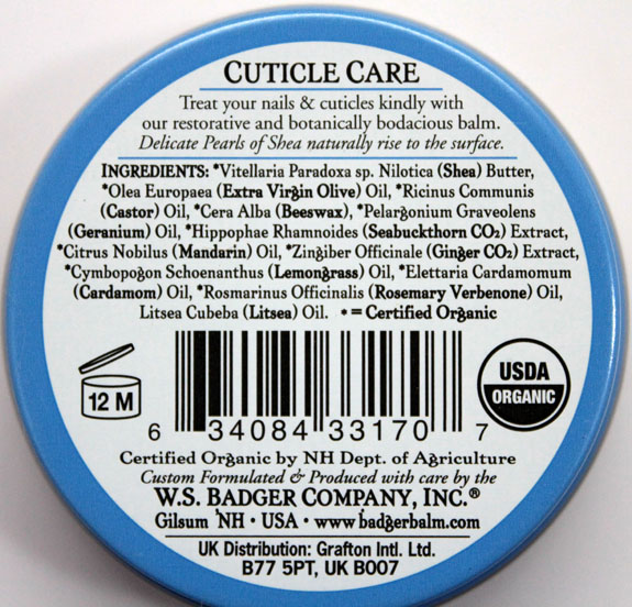 Badger Balm Cuticle Care 3