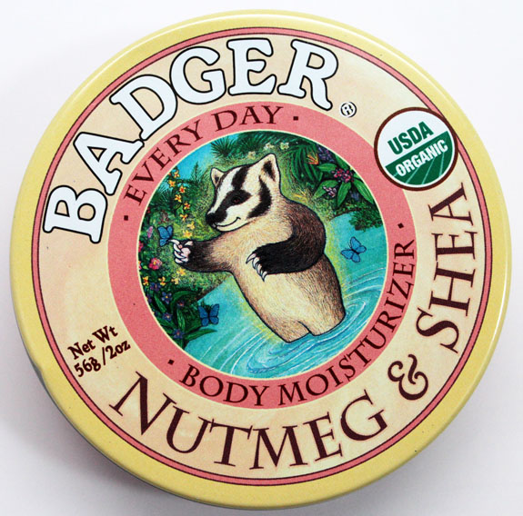 Badger Balm Nutmeg  Shea Body Moisturizer 2