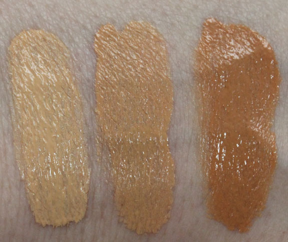 Benefit Hello Flawless Swatches
