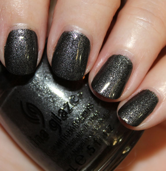 China Glaze Stone Cold with Top Coat