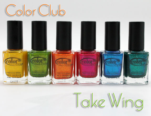 Color Club Take Wing1 Color Club Take Wing Giveaway!