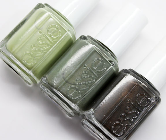 Essie Green Polishes 2 Three Green Essie Shades You Need in Your Life