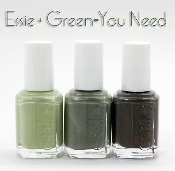 Essie Green Polishes Three Green Essie Shades You Need in Your Life