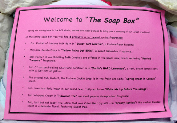 Fortune Cookie Soap The Soap Box 3