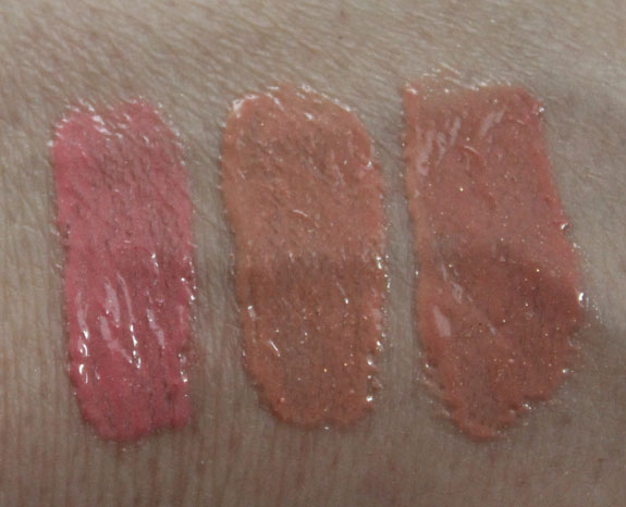 LORAC Lips With Benefits Lip Gloss Swatches