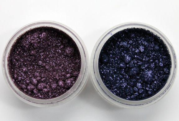 MAC Vera Crushed Metallic Pigment Butterfly Party and Desert Cloud