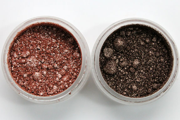 MAC Vera Crushed Metallic Pigment Shifting Sands and Aloha