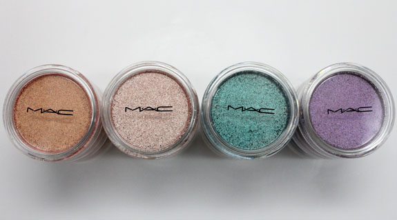 MAC Vera Crushed Metallic Pigments 2