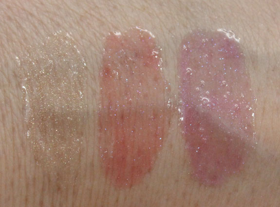 MAC Vera Plushglass Swatches