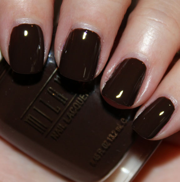 Milani Nail Lacquer Dark Coffee