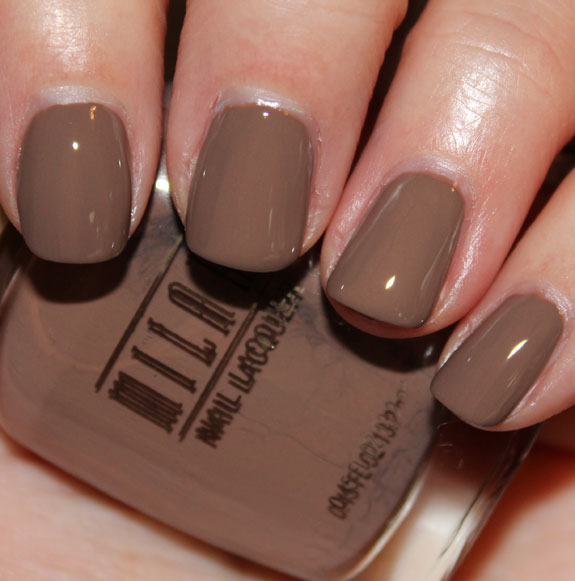 Milani Nail Lacquer Teddy Brown