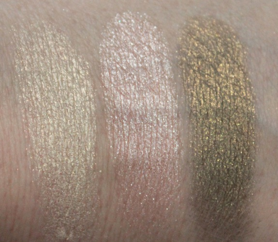 Milani Runway Eyes Eyeshadow Swatches Wet