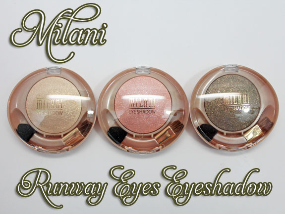 Milani Runway Eyes Eyeshadow