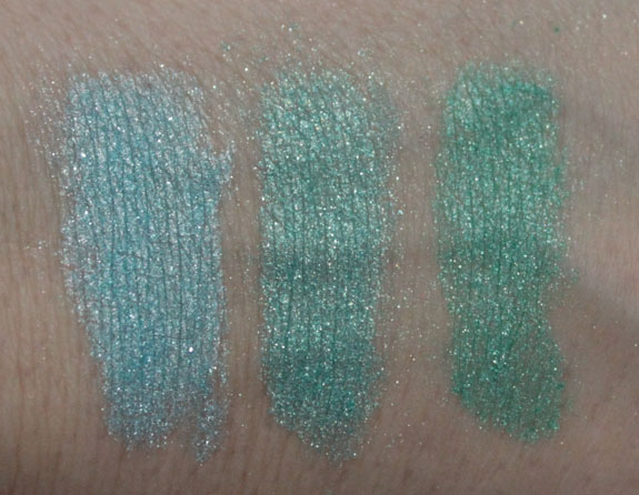 NYX Roll On Shimmer Swatches 2