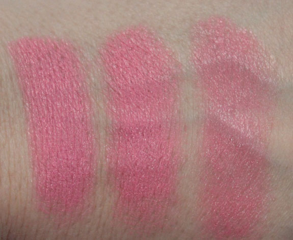 NYX Stick Blush Swatches