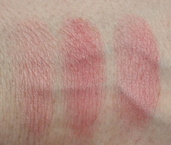 Physicians Formula Cashmere wear Ultra Smoothing Blush Natural Swatches