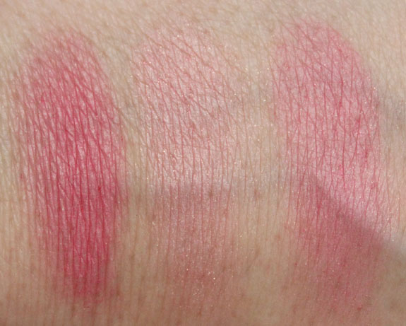 Physicians Formula Cashmere wear Ultra Smoothing Blush Rose Swatches