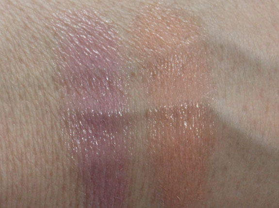 Revlon Lip Butter Creamsicle and Gumdrop Swatches