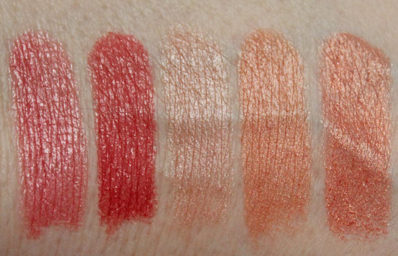 Wet n Wild MegaShield Lip Color SPF 15 Swatches 2
