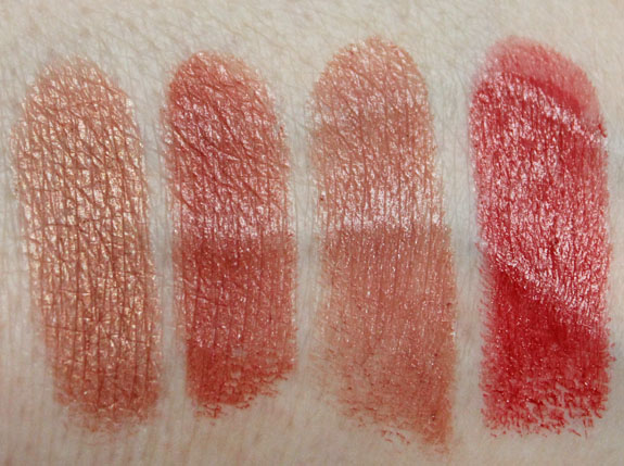 Wet n Wild MegaShield Lip Color SPF 15 Swatches 3