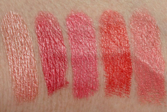 Wet n Wild MegaShield Lip Color SPF 15 Swatches