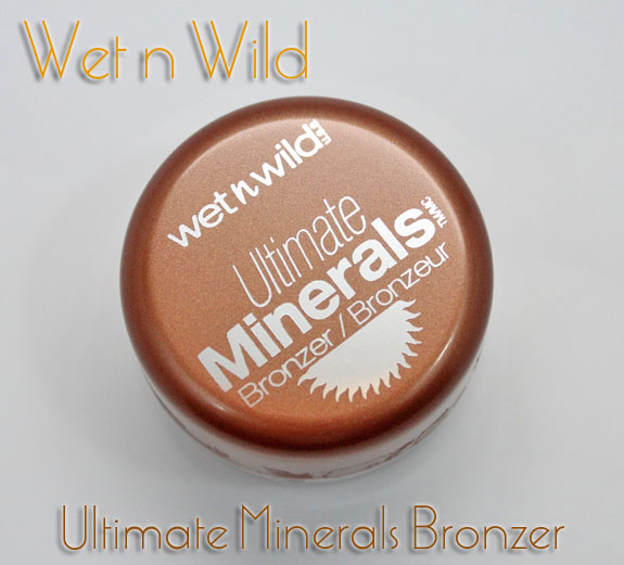 Wet n Wild Ultimate Minerals Bronzer Wet n Wild Ultimate Minerals Bronzer in Ginger Glow Swatches & Review