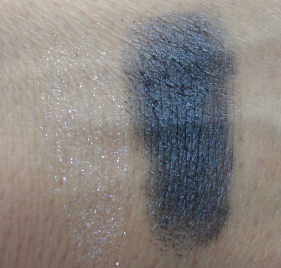 MAC Chenman Reflects Blue  Naval Blue Swatches