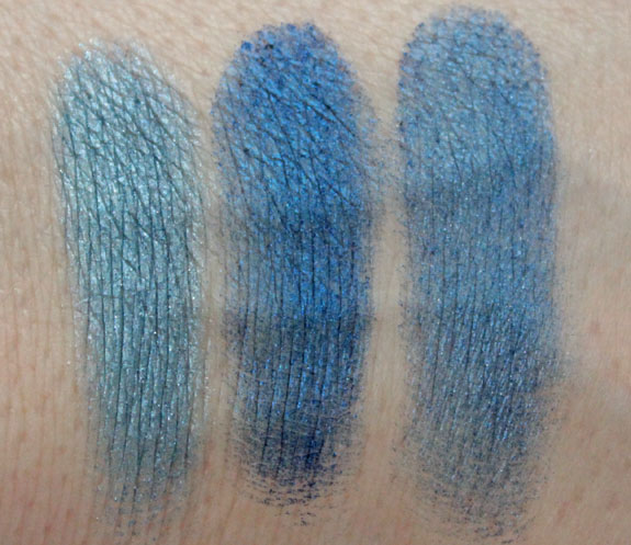 MAC Love Cycle Mineralize Eye Shadow Duo Swatches