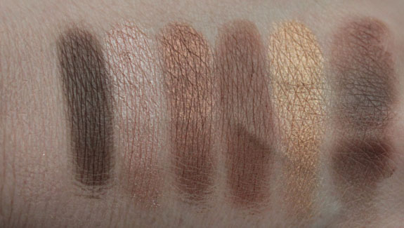 Milani Eyeshadow Palette Abstract Swatches