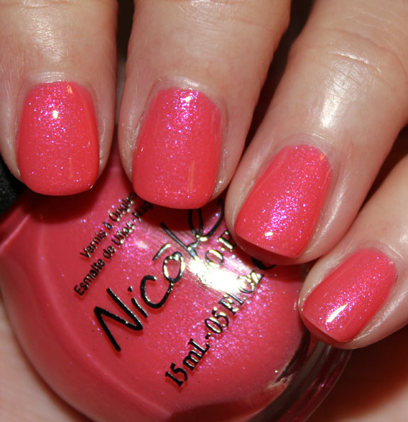 Nicole By OPI Target Exclusives Swatches & Review