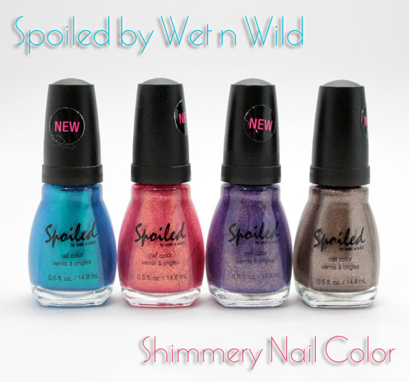 Spoiled by Wet n Wild Spoiled by Wet n Wild Shimmery Nail Colors