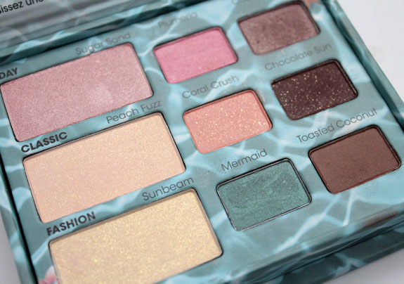 Too Faced Summer Eye Palette 3 Too Faced Summer 2012 Collection Swatches & Review