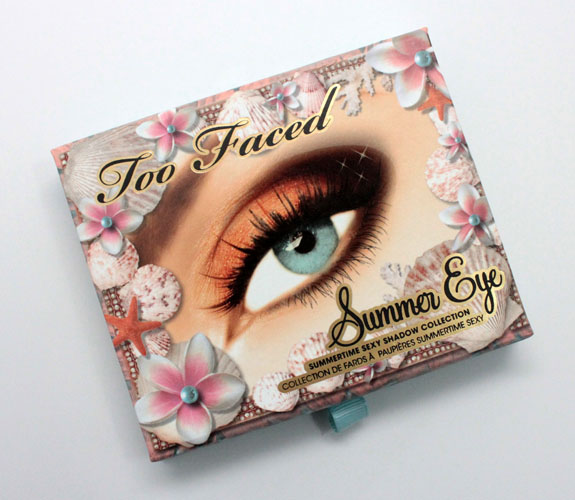 Too Faced Summer Eye Palette Too Faced Summer 2012 Collection Swatches & Review