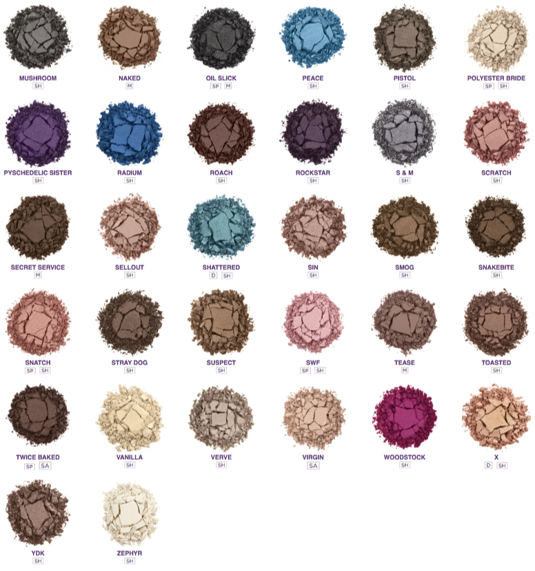Urban decay eye shadow new pop out pots choose from many for Colors that pop out