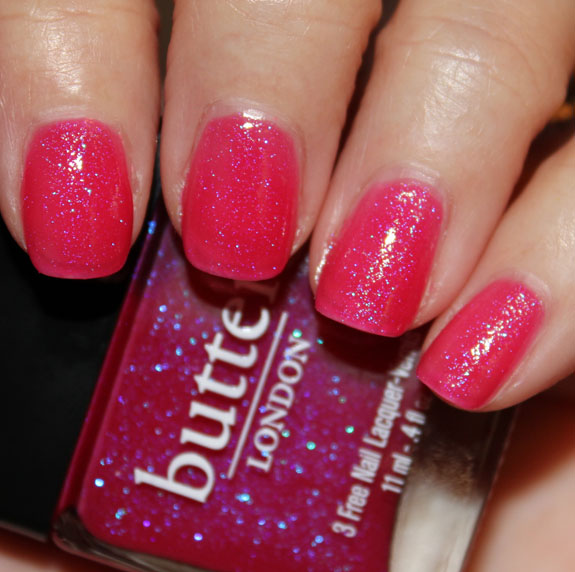 butter London Disco Biscuit butter LONDON Spring/Summer 2012 Swatches