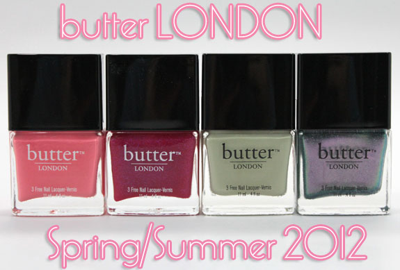 butter LONDON Spring/Summer 2012 Swatches | Vampy Varnish