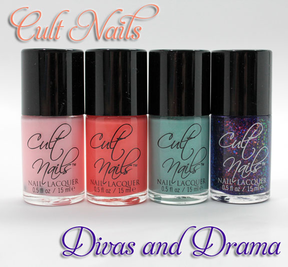 Cult Nails Divas Drama Cult Nails Divas & Drama Collection Swatches & Review