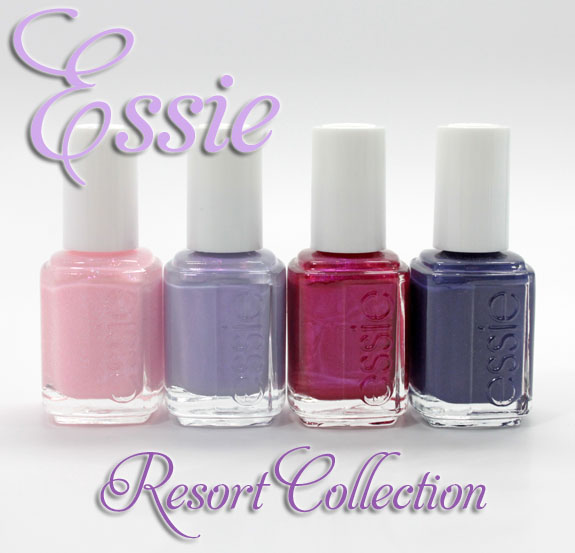 Essie Resort Essie Resort Collection Swatches & Review