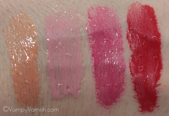 MAC Fashion Sets Lipglass Swatches MAC Fashion Sets Collection Swatches, Photos & Review