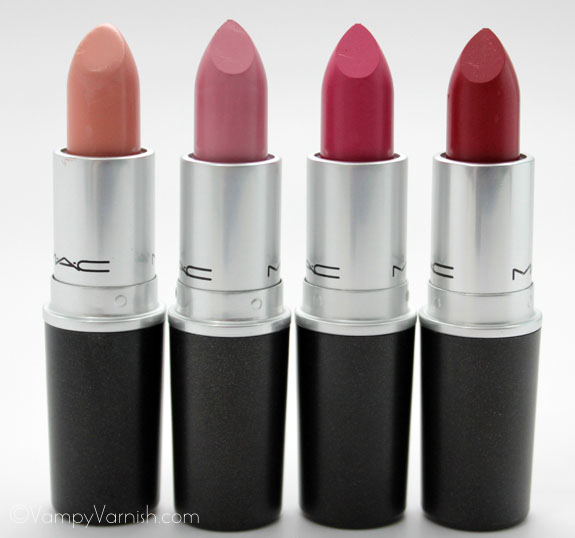 MAC Fashion Sets Lipstick MAC Fashion Sets Collection Swatches, Photos & Review