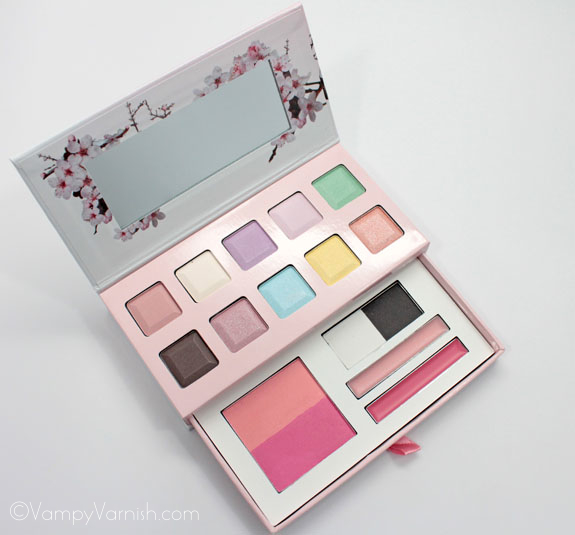 NYX Spring Fling Palette 2 NYX Spring Fling Palette for Spring 2012 Swatches, Photos & Review